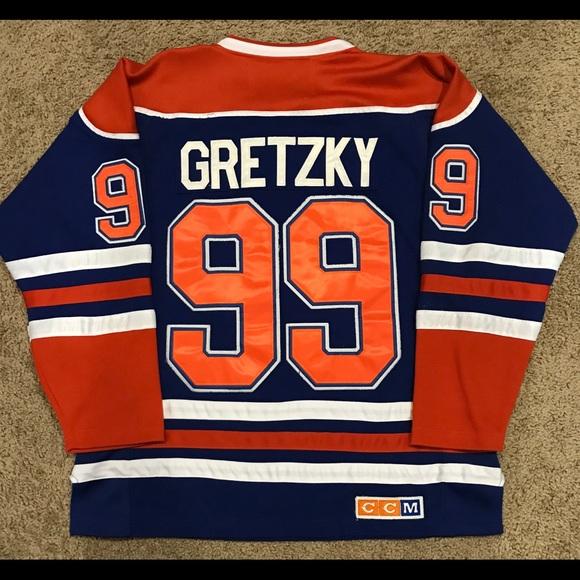 uk availability 22bad 39199 Edmonton Oilers Wayne Gretzky CCM Jersey